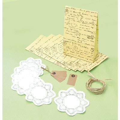 タカ印 ラッピングセット リーブルレター・M 35-5752 1包(5セット入り) (取寄品)