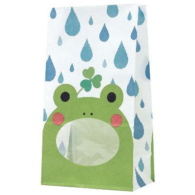 タカ印 パックンバッグ カエル 50-3216 1袋(50枚入り) (取寄品)
