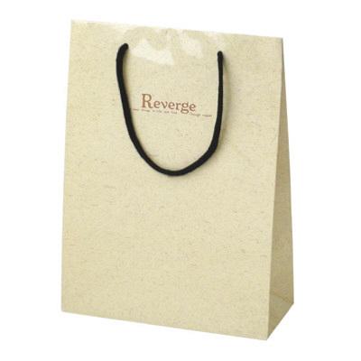 タカ印 手提げバッグ キュートリバージュ ベージュ 50-6428 1セット(5枚入り) (取寄品)
