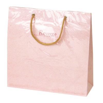 タカ印 手提げバッグ リバージュミニ ピンク 50-6531 1セット(5枚入り) (取寄品)