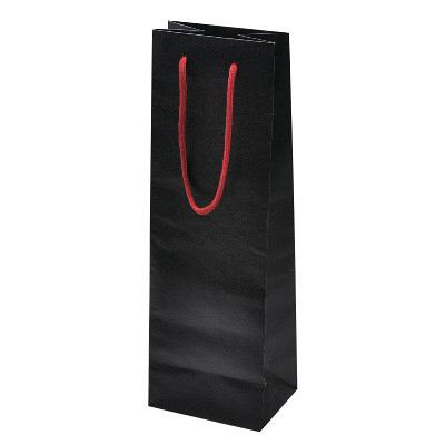 手提げ紙袋 黒 10枚