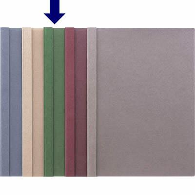 製本ファイル A4縦 緑 100冊