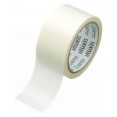 新透明クロステープ No.784 0.107mm厚 50mm×25m巻 白(半透明) 1箱(30巻入) 積水化学工業