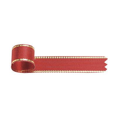 リボン 赤 幅12mm 5巻