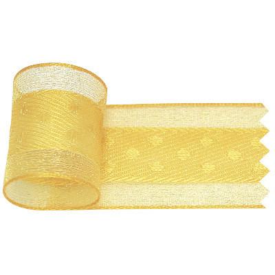 リボン 黄 幅25mm 5巻