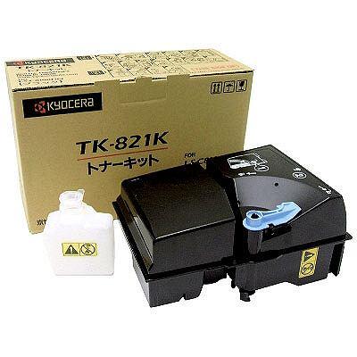 京セラ レーザートナーカートリッジ TK-821K ブラック