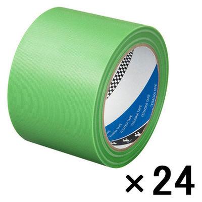 寺岡製作所 Pカットテープ(75ミリ巾) 若葉 4140 1箱(24巻入)