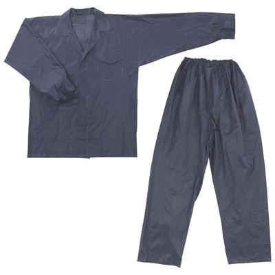 川西工業 ワークレインスーツ ネイビー L #1100 1セット(5着:1着入×5)