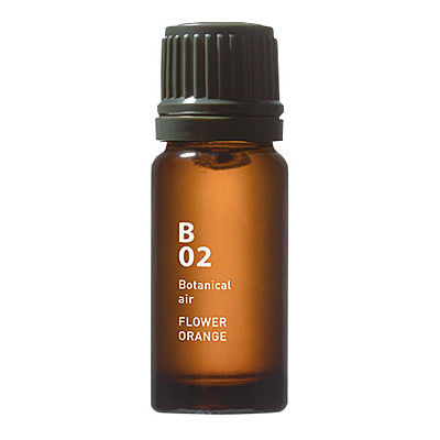@アロマ(アットアロマ) ボタニカルエアー B02 フラワーオレンジ 10ml ブレンドエッセンシャルオイル 1本
