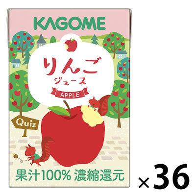 100%りんごジュース100ml36本