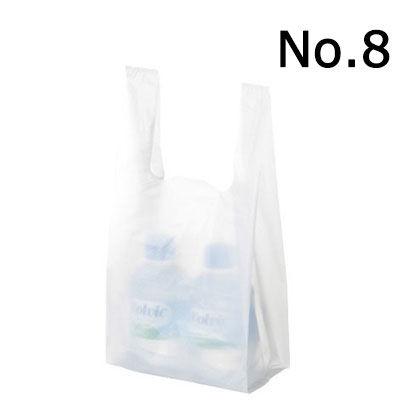 レジ袋 乳白 No.8 12000枚