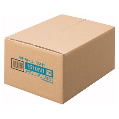 ストックフォームNIP 11×15インチ-1P 白紙 1510N1 1箱(2000set) トッパンフォームズ (取寄品)
