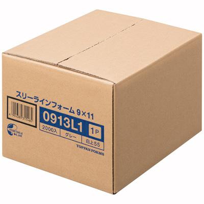 ストックフォーム(スリーライン) 11×9インチ-1P 0913L1 1箱(2000set) トッパンフォームズ (取寄品)