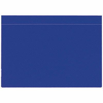 ケルン KF-102-B 温度板フォルダー A4ヨコ ブルー 1パック(10枚入) (直送品)