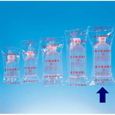 シンリョウ 滅菌済プリントメモリ瓶/青目盛 200ml 117050 1箱(80本入)