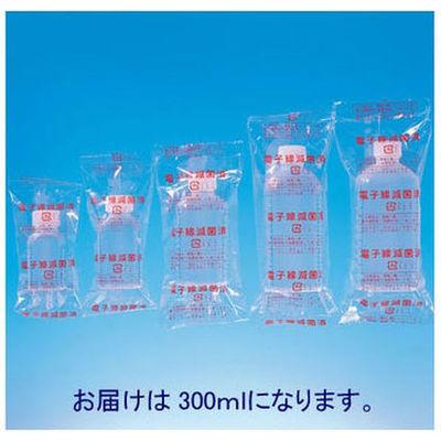 シンリョウ 滅菌済プリントメモリ瓶/青目盛 300ml 117060 1箱(40本入)