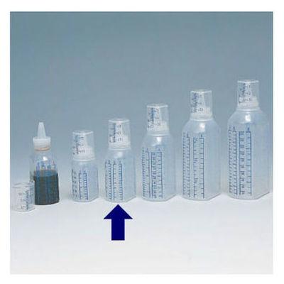 シンリョウ SKカップ付ボトル/青目盛 60ml 307020 1箱(200本入) (直送品)