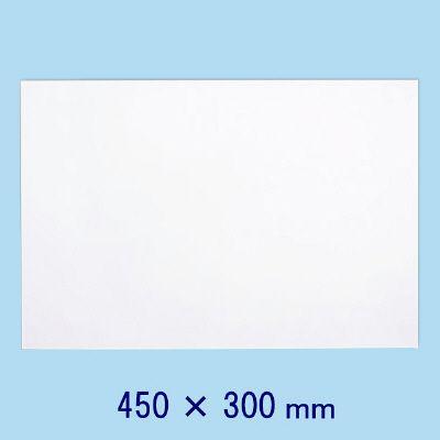 マグエックス 薄型マグネットホワイトボードシート 450×300mm MSHU-3045-M