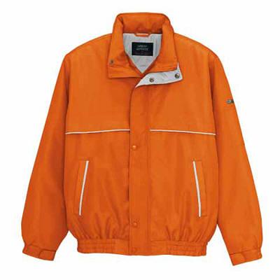 アイトス 中綿ブルゾン オレンジ LL AZ1961-063-LL 1着 (直送品)