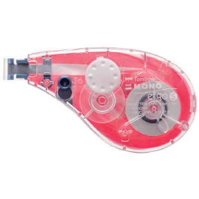 トンボ鉛筆 修正テープ モノエルゴ5C81ピンク CT-YUX5C81 4個 (直送品)