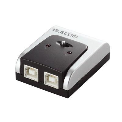 エレコム USB2.0/1.1準拠手動USB切替器 2回路 U2SW-T2 (直送品)