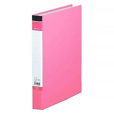 キングジム リングファイルBF A4タテ 背幅37mm 1冊 603BFヒン ピンク