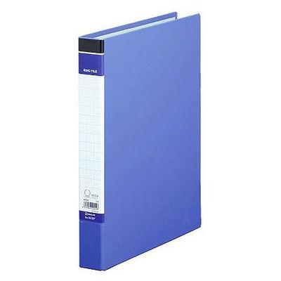 キングジム リングファイルBF A4タテ 背幅37mm 1冊 603BFアオ 青
