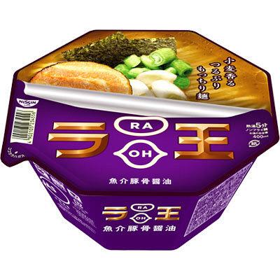 日清ラ王 魚介豚骨醤油 3個