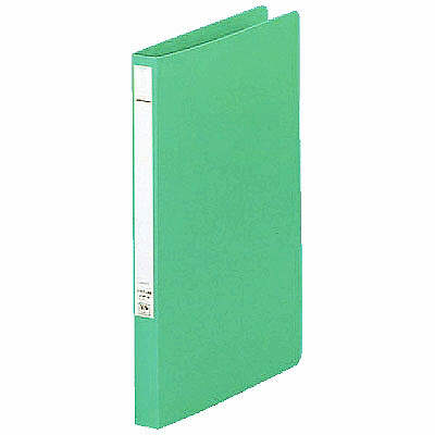 パンチレスファイル A4タテ 10冊 リヒトラブ HEAVY DUTY 緑 F367-6