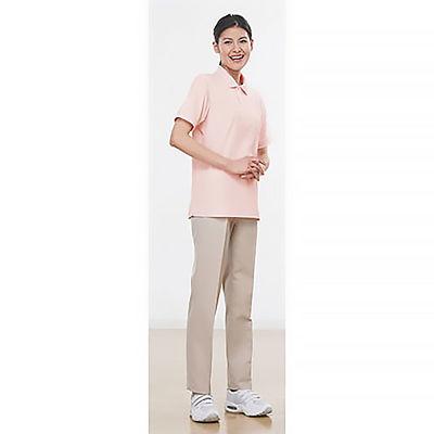 ポロシャツ(男女兼用) ピンク M
