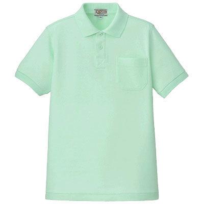ポロシャツ(男女兼用) ミントグリーン L