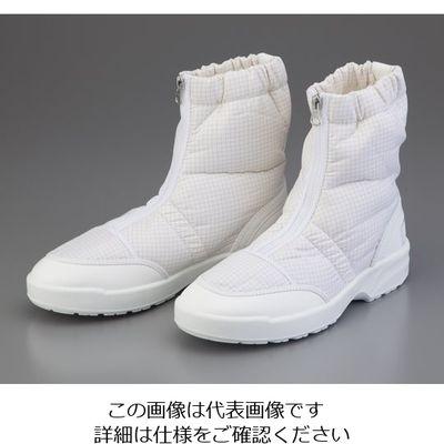 東洋リントフリー ショートブーツ FS662C 25.0cm 1足 2-2896-02 (直送品)