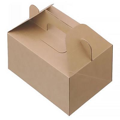 ケーキボックス 未晒し L 50枚入