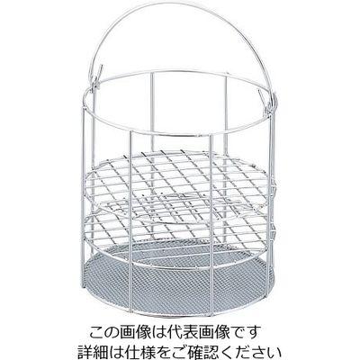 アズワン 円形試験管立て 1個 1-4236-02 (直送品)