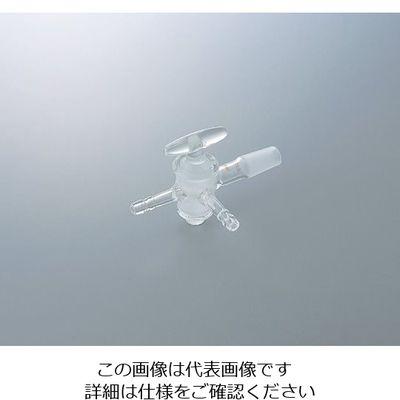 クライミング 共通摺合三方コックII型 ガラスコック TS24/40 1個 1-4350-03 (直送品)
