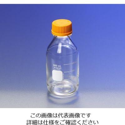 PYREX メディウム瓶(PYREX(R)オレンジキャップ付き) 透明 2000mL 1本 1-4994-07 (直送品)