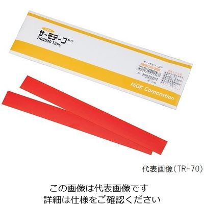 アズワン サーモテープ TRー40 25枚入 1ー638ー01 1箱(25枚入) 1ー638ー01 (直送品)