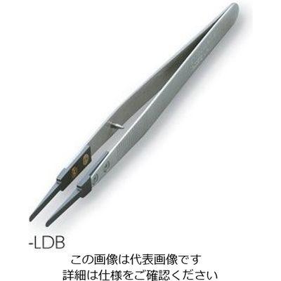 アズワン セラミックピンセット KC-SDT-LDB 1本 1-6808-04 (直送品)