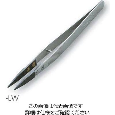 アズワン セラミックピンセット KC-SDT-LW 1本 1-6808-01 (直送品)