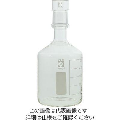 柴田科学 SPC保存びん (目安目盛・メスキャップ付き) 500mL 1個 1-7073-03 (直送品)
