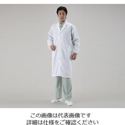 アズワン 制電ウェアー M No.520 1着 1-7707-03 (直送品)
