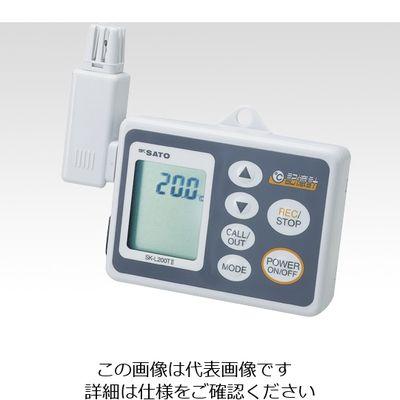 佐藤計量器製作所 記憶計 SK-L200TII(温度一体型) 1台 1-7793-01 (直送品)
