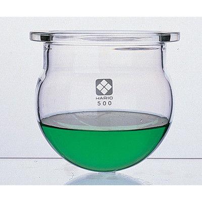 柴田科学 セパラブルフラスコ丸形(平面摺合タイプ) 5000mL φ225mm 1個 1-7800-04 (直送品)