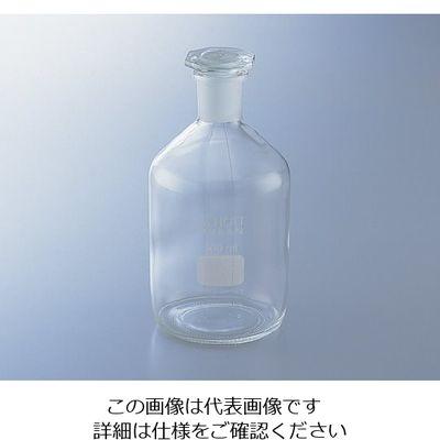 アズワン 試薬瓶(栓付き)デュラン(R) 白 5000mL 1-8400-08 (直送品)