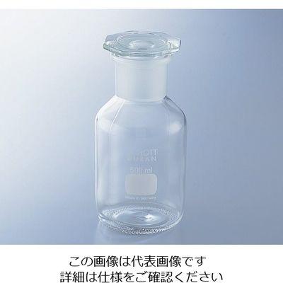 アズワン 試薬瓶(広口・栓付き)デュラン(R) 白 2000mL 1-8398-06 (直送品)