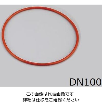 SCHOTT(ショット) セパラブルフラスコ用O-Ring(DURAN(R)) 110×4mm テフロンFEP被覆シリコン 1-8496-01 (直送品)