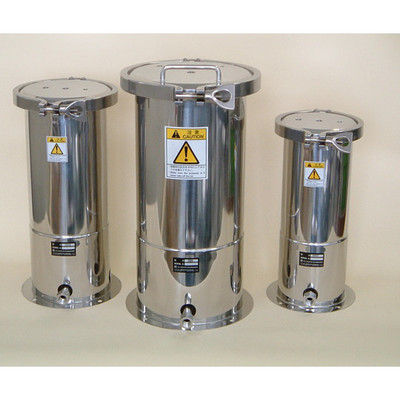 ユニコントロールズ 開口部が広い ステンレス加圧容器 10L 1個 1-9524-04 (直送品)