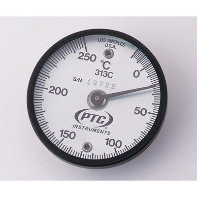 イチネンTASCO バイメタル表面温度計 TMS50-250 低温・高温各表示針無し 1個 1-9897-02 (直送品)