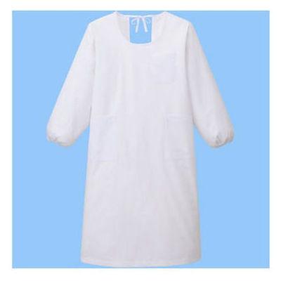 タップ 予防衣 長袖 LL ホワイト AKL139-30-LL