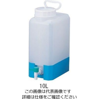 NIKKO(ニッコー) テーパージャー角型(PP製) 10L 708602 1本 4-5644-01 (直送品)